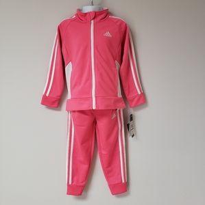 Girl's Adidas 2 Piece Set Size 4 NWT